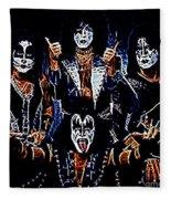 Kiss Fleece Blanket