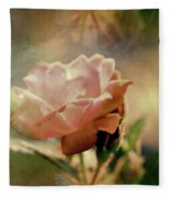 Kissed By A Rose Fleece Blanket
