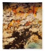 Kissed By Autumn's Winds Fleece Blanket