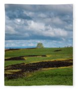 Kissed By The Sun Fleece Blanket