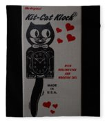 Kit Cat Klock Fleece Blanket