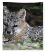 Kit Fox1 Fleece Blanket