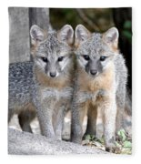 Kit Fox6 Fleece Blanket
