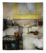 Kitchen - How I Bake Bread 1923 Fleece Blanket