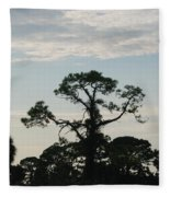 Kite In The Tree Fleece Blanket
