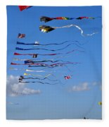 Kite Season Fleece Blanket