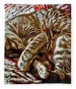 Kitty Dreams Fleece Blanket