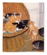 Kitty Litter I Fleece Blanket