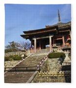 Kiyomizu-dera Fleece Blanket