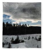 Klamath Falls Sunrise Fleece Blanket