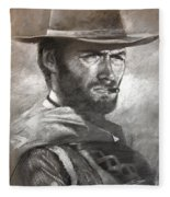 Klint Eastwood Fleece Blanket