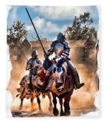 Knights Of Yore Fleece Blanket