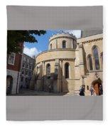 Knights Templar Church- London Fleece Blanket