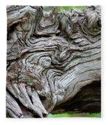 Knotty Tree Fleece Blanket