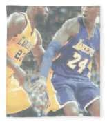 Kobe Bryant Lebron James 2 Fleece Blanket