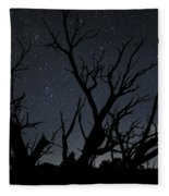 Kodachrome Basin Night Sky 2963 Fleece Blanket