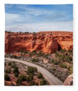 Kodachrome Basin State Park Panorama Fleece Blanket