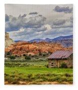 Kodachrome Cabin Fleece Blanket
