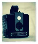 Kodak Brownie Fleece Blanket