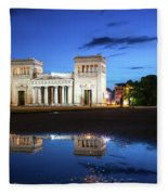 Koenigsplatz - After The Rain Fleece Blanket