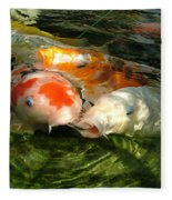 Koi Ripples Fleece Blanket