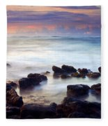 Koloa Sunrise Fleece Blanket