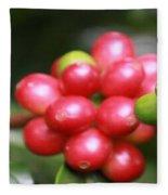 Kona Coffee Fleece Blanket