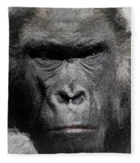 Kong Of The Jungle - Painted Fleece Blanket