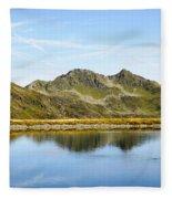 Konigsleiten Mountain Top. Tyrol, Austria Fleece Blanket