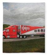 Kreilkamp Truck Fleece Blanket
