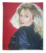 Kristi Sommers Fleece Blanket
