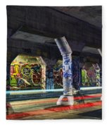 Krog Street Tunnel Fleece Blanket