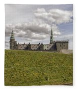 Kronborg Castle Moat Mound Fleece Blanket