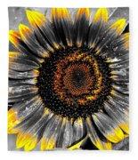 Krypton's Sun Flower Bwy Fleece Blanket