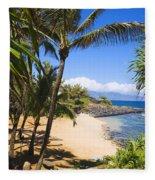 Kuau Cove Fleece Blanket