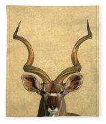 Kudu Fleece Blanket