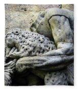 Kuks Forest Sculptures Fleece Blanket
