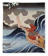 Kuniyoshi: Oban Print Fleece Blanket