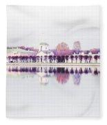 Kuskovo Estate, Moscow Fleece Blanket