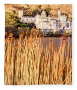 Kylemore Abbey, County Galway Fleece Blanket
