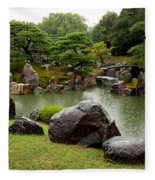 Kyoto Garden  Fleece Blanket