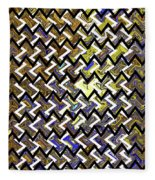 L T Z Abstract Fleece Blanket