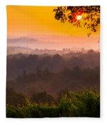 La Bella Toscana Fleece Blanket