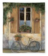 La Bici Fleece Blanket