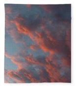 La Boca Sunset Fleece Blanket