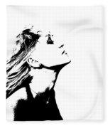 La Dolce Vita Lady I Fleece Blanket