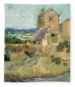 La Maison De La Crau The Old Mill Fleece Blanket
