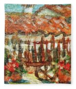 La Mancha Fleece Blanket