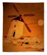 La Mancha Fleece Blanket