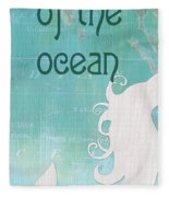 La Mer Mermaid 1 Fleece Blanket